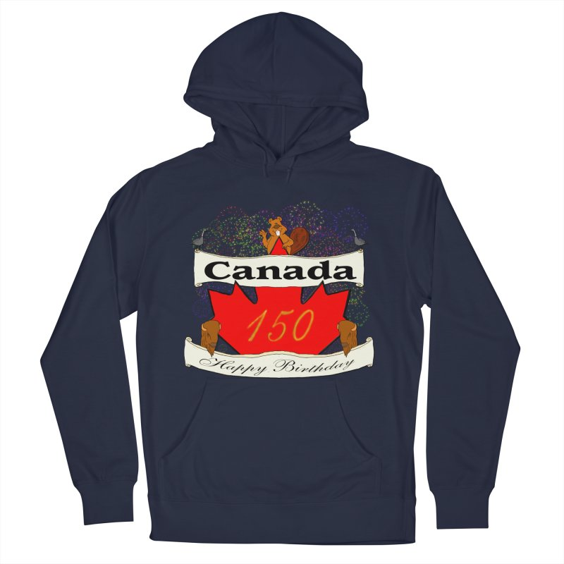 Happy Birthday Canada Women's Pullover Hoody by nicolekieferdesign's Artist Shop