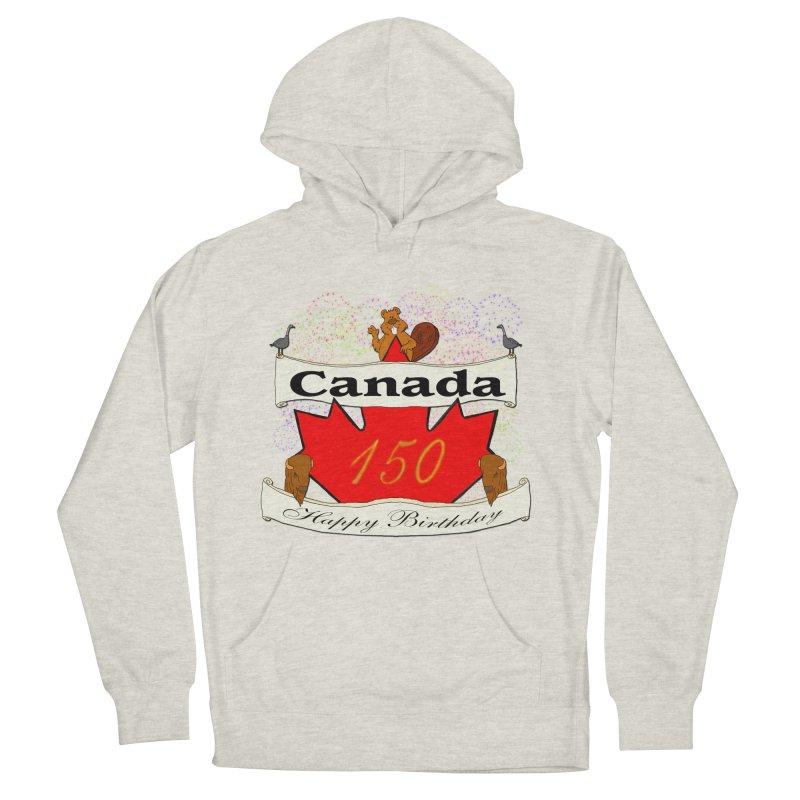 Happy Birthday Canada Men's Pullover Hoody by nicolekieferdesign's Artist Shop