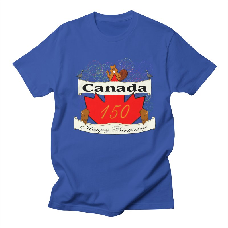 Happy Birthday Canada Men's T-shirt by nicolekieferdesign's Artist Shop