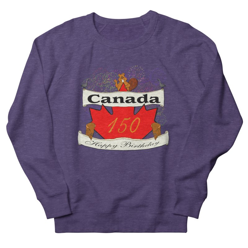 Happy Birthday Canada Women's Sweatshirt by nicolekieferdesign's Artist Shop