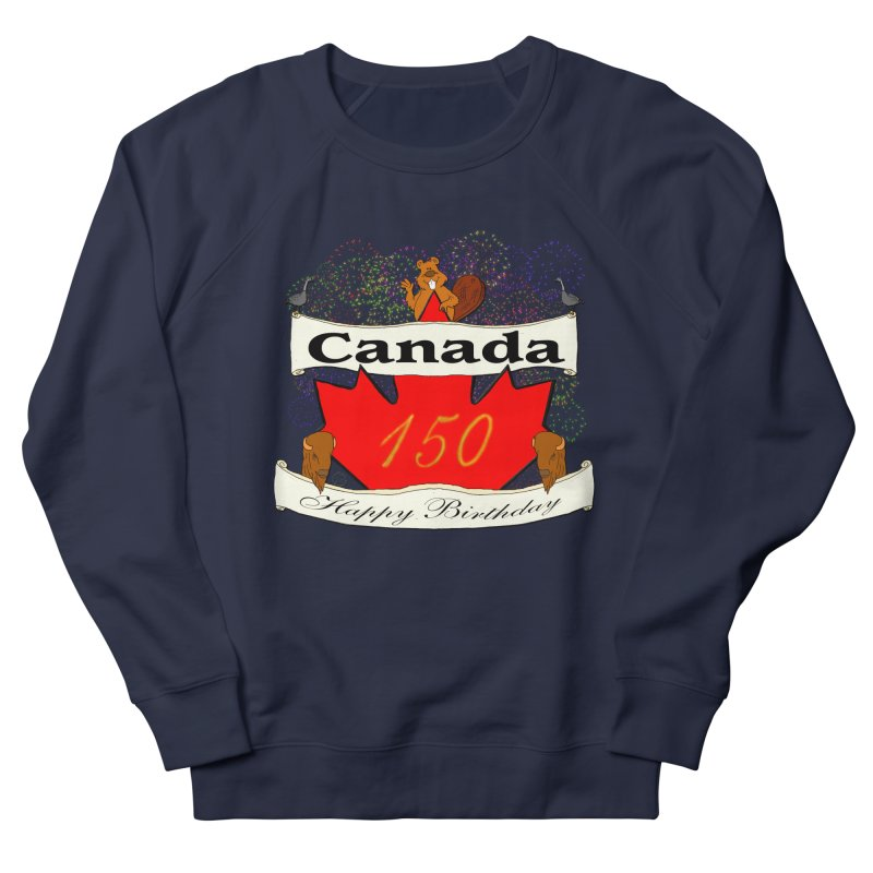 Happy Birthday Canada Women's Sweatshirt by nicolekieferdesign's Artist Shop