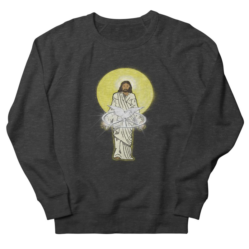 Jesus brings peace Men's Sweatshirt by nicolekieferdesign's Artist Shop