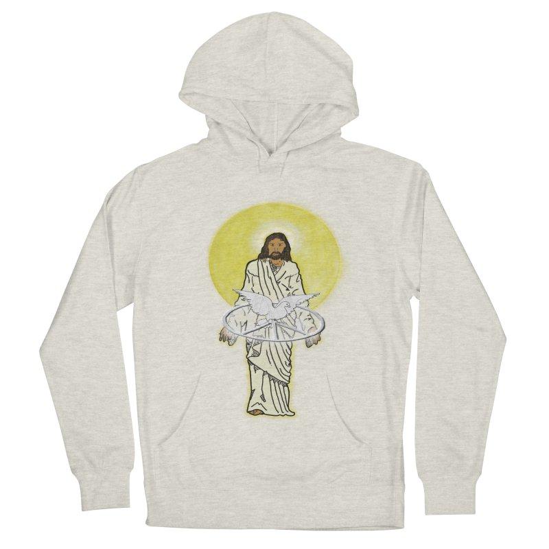 Jesus brings peace Men's Pullover Hoody by nicolekieferdesign's Artist Shop