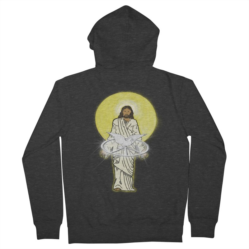 Jesus brings peace Women's Zip-Up Hoody by nicolekieferdesign's Artist Shop