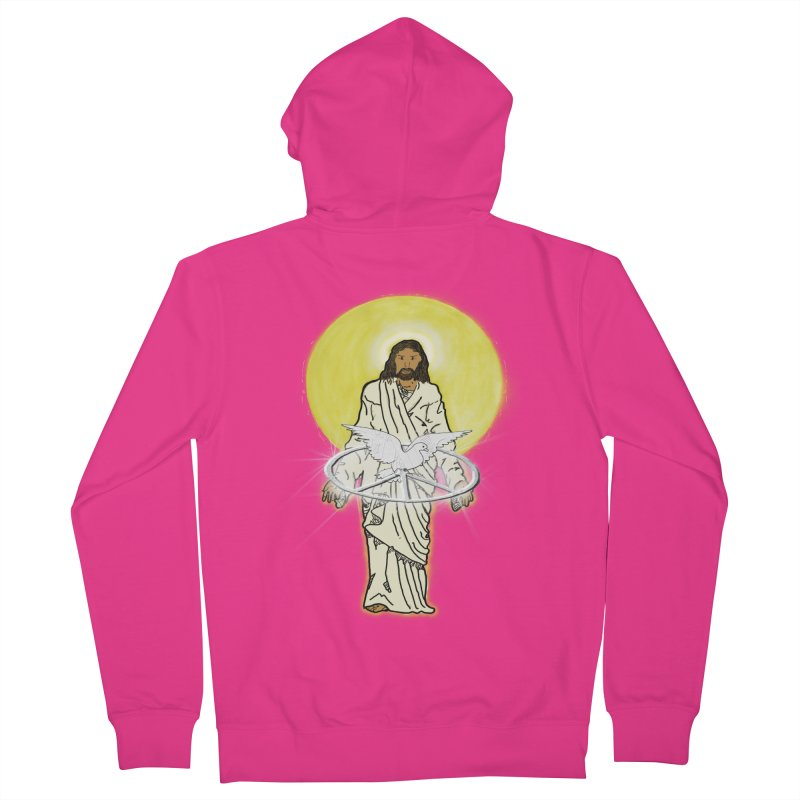 Jesus brings peace Men's Zip-Up Hoody by nicolekieferdesign's Artist Shop