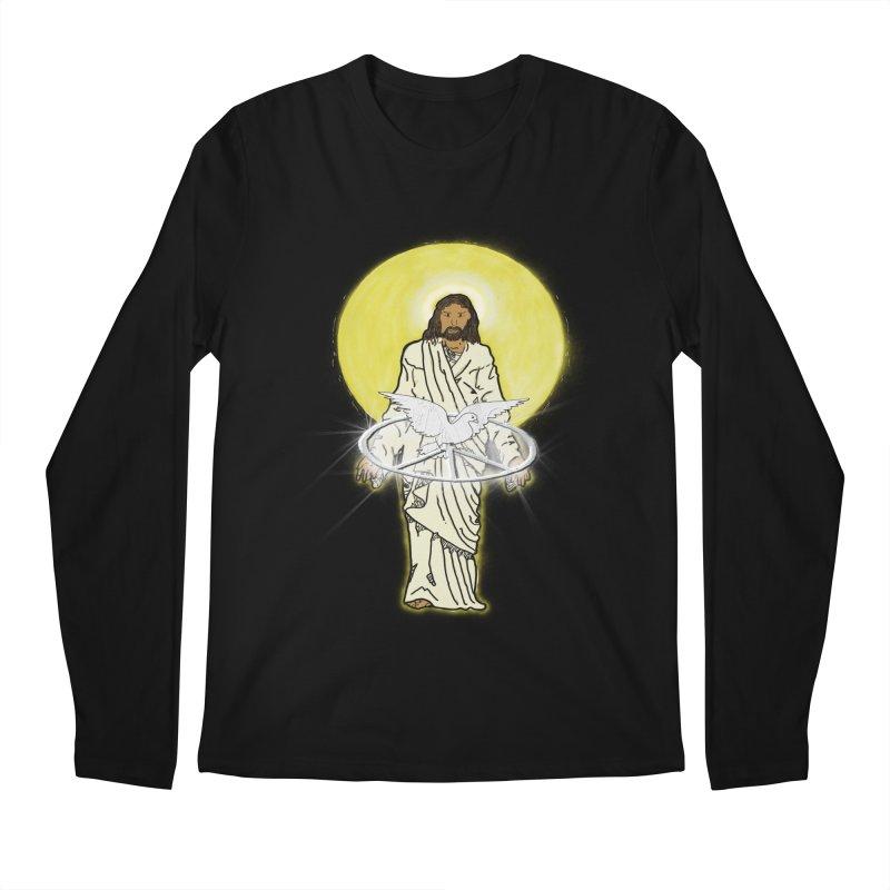 Jesus brings peace Men's Longsleeve T-Shirt by nicolekieferdesign's Artist Shop