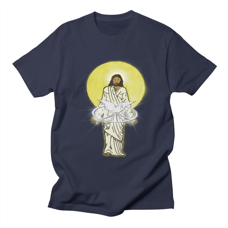 Jesus brings peace Men's T-shirt by nicolekieferdesign's Artist Shop