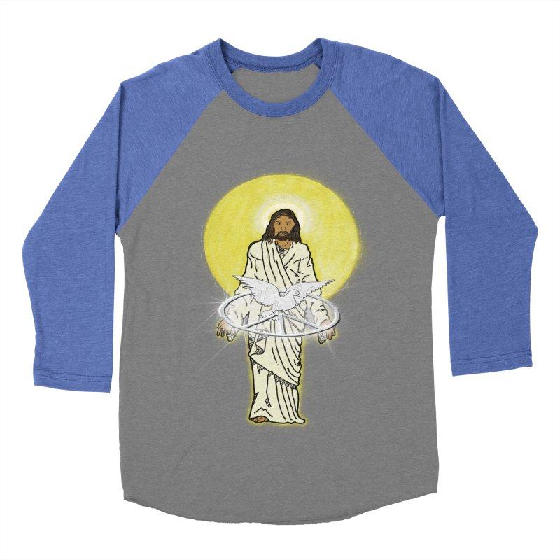 Jesus brings peace Men's Baseball Triblend T-Shirt by nicolekieferdesign's Artist Shop