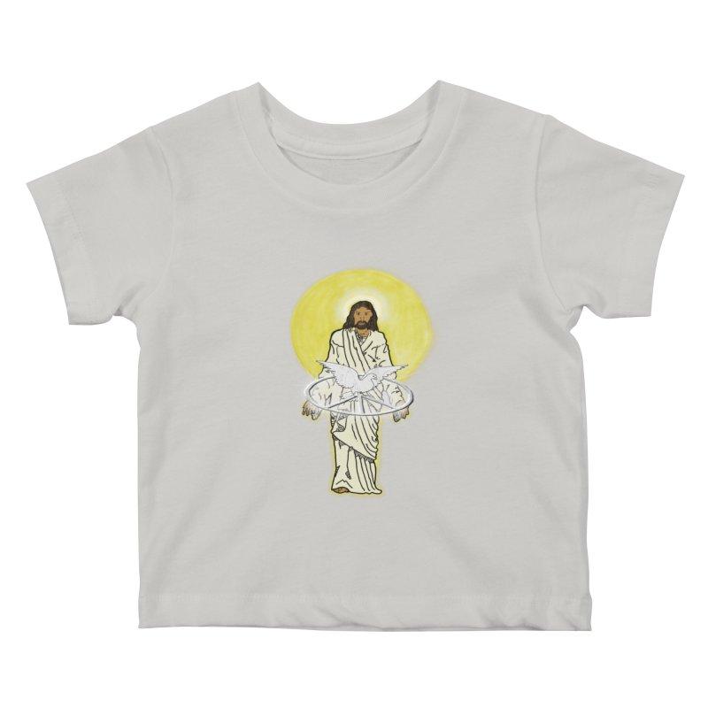 Jesus brings peace Kids Baby T-Shirt by nicolekieferdesign's Artist Shop