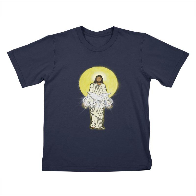 Jesus brings peace Kids T-shirt by nicolekieferdesign's Artist Shop