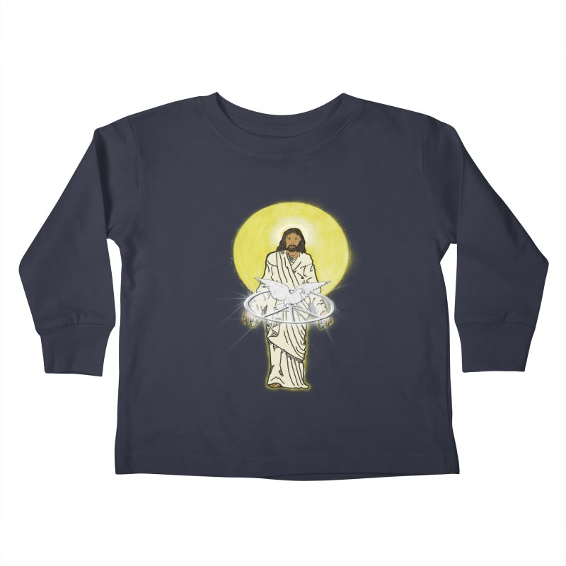Jesus brings peace Kids Toddler Longsleeve T-Shirt by nicolekieferdesign's Artist Shop
