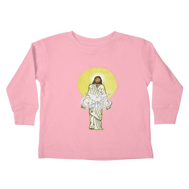 Jesus brings peace Kids Toddler Longsleeve T-Shirt by nicolekieferdesign's Artist Shop