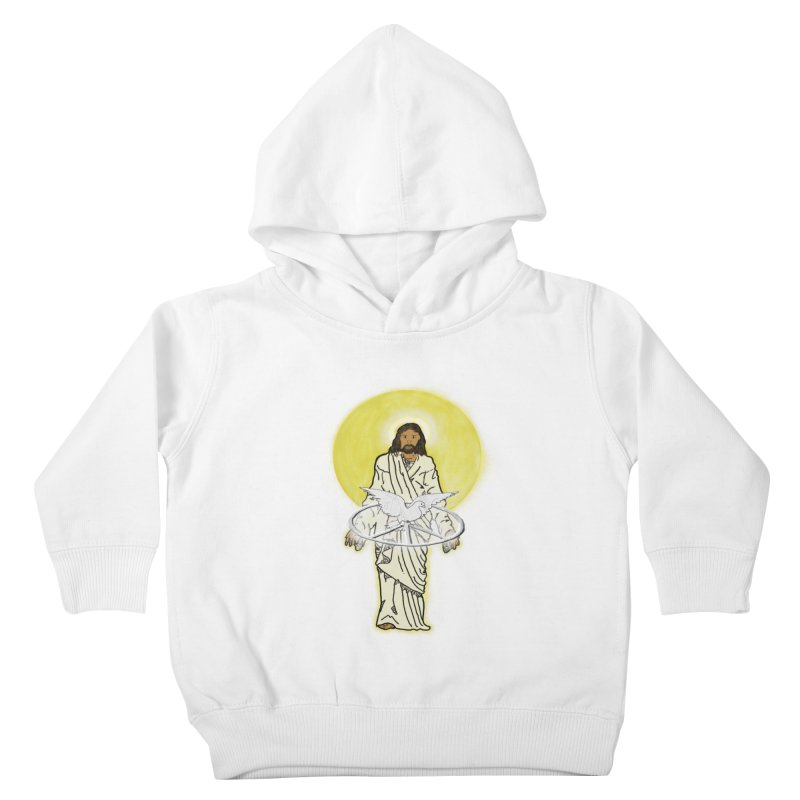 Jesus brings peace Kids Toddler Pullover Hoody by nicolekieferdesign's Artist Shop