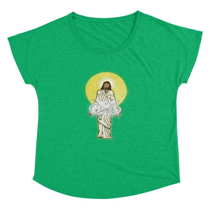 Jesus brings peace Women's Dolman by nicolekieferdesign's Artist Shop