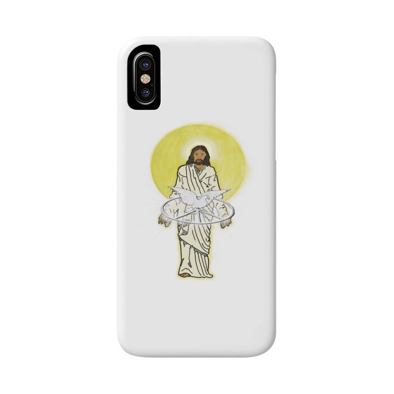 Jesus brings peace Accessories Phone Case by nicolekieferdesign's Artist Shop