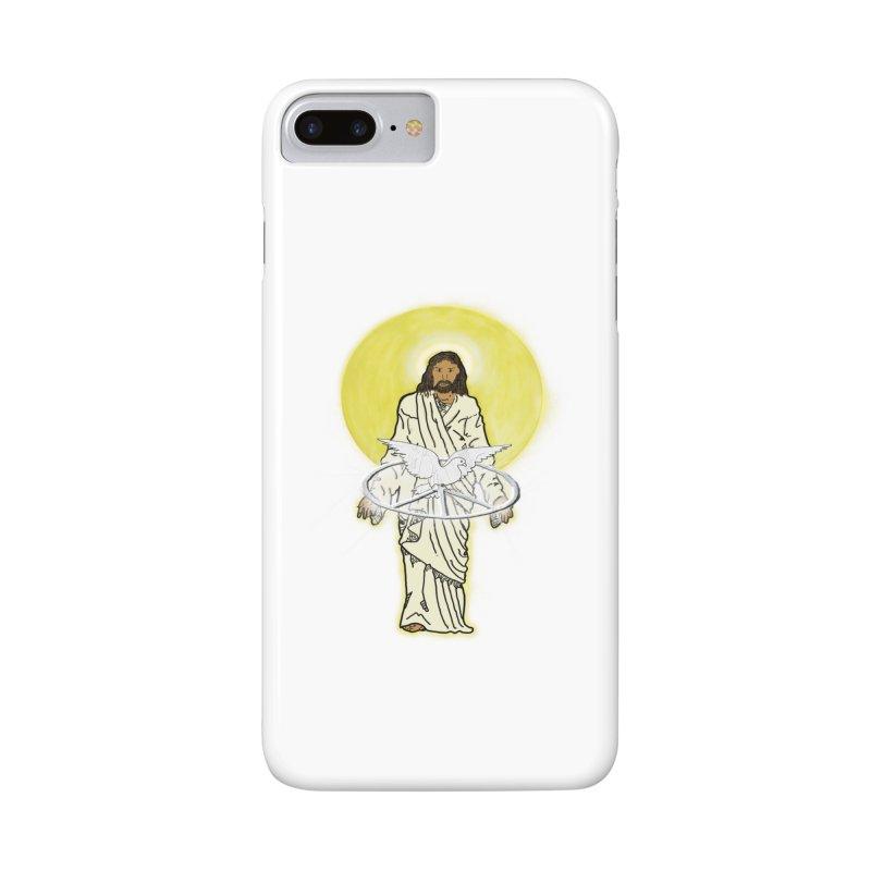 Jesus brings peace Accessories Phone Case by nicolekieferdesign's Artist Shop