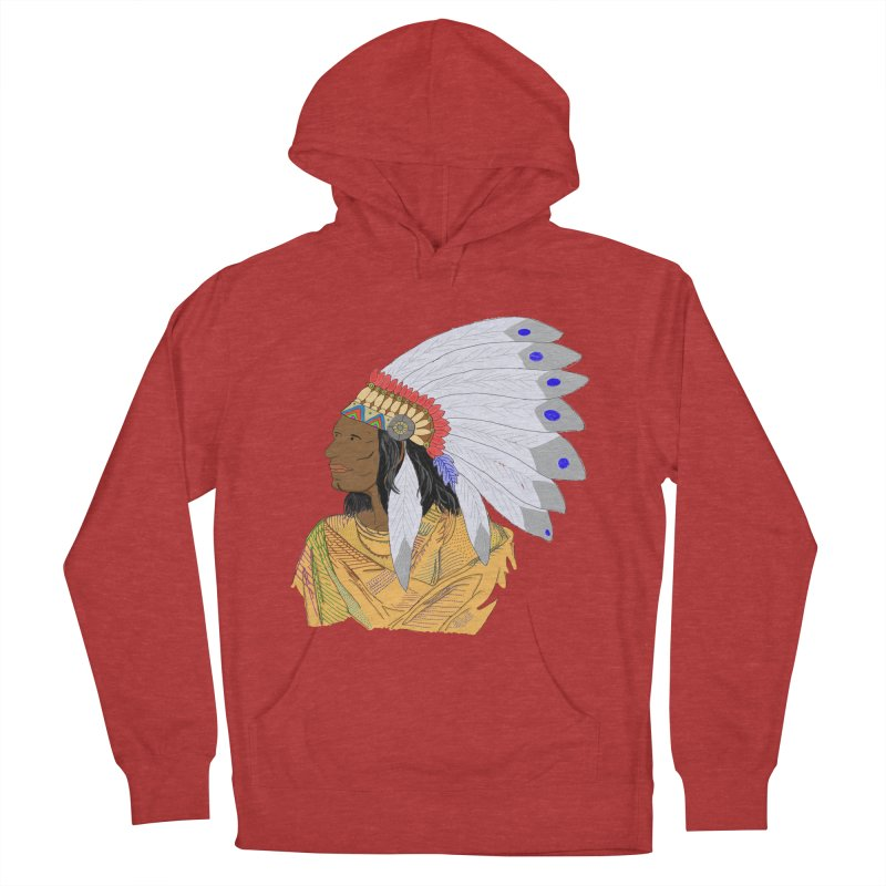 Native American Chieftain Women's Pullover Hoody by nicolekieferdesign's Artist Shop