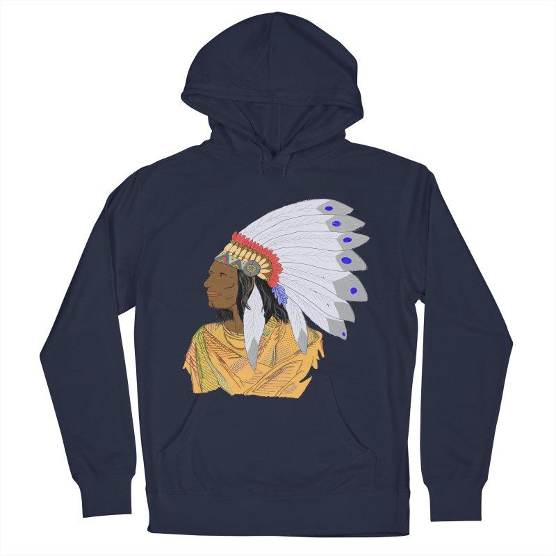 Native American Chieftain Men's Pullover Hoody by nicolekieferdesign's Artist Shop