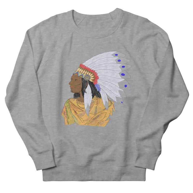 Native American Chieftain Women's Sweatshirt by nicolekieferdesign's Artist Shop