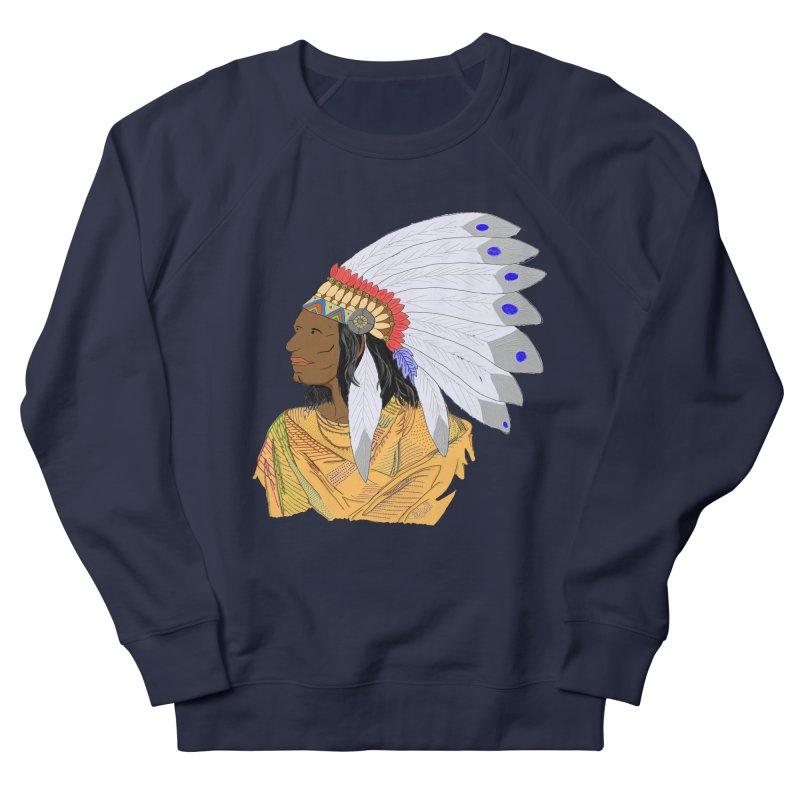 Native American Chieftain Men's Sweatshirt by nicolekieferdesign's Artist Shop