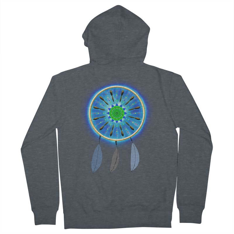 Dreamcatcher Women's Zip-Up Hoody by nicolekieferdesign's Artist Shop