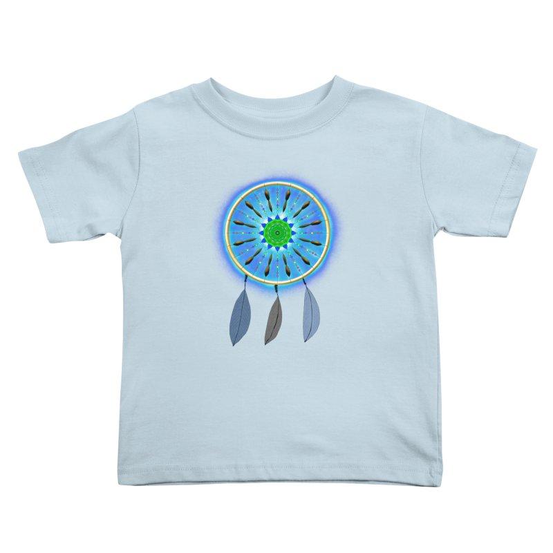 Dreamcatcher Kids Toddler T-Shirt by nicolekieferdesign's Artist Shop