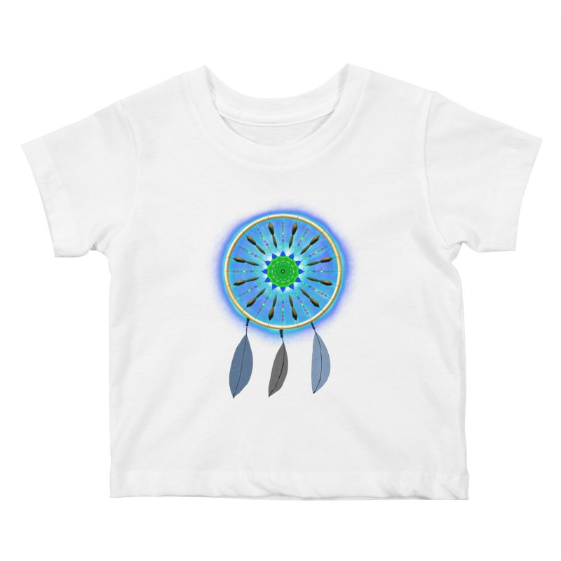 Dreamcatcher Kids Baby T-Shirt by nicolekieferdesign's Artist Shop