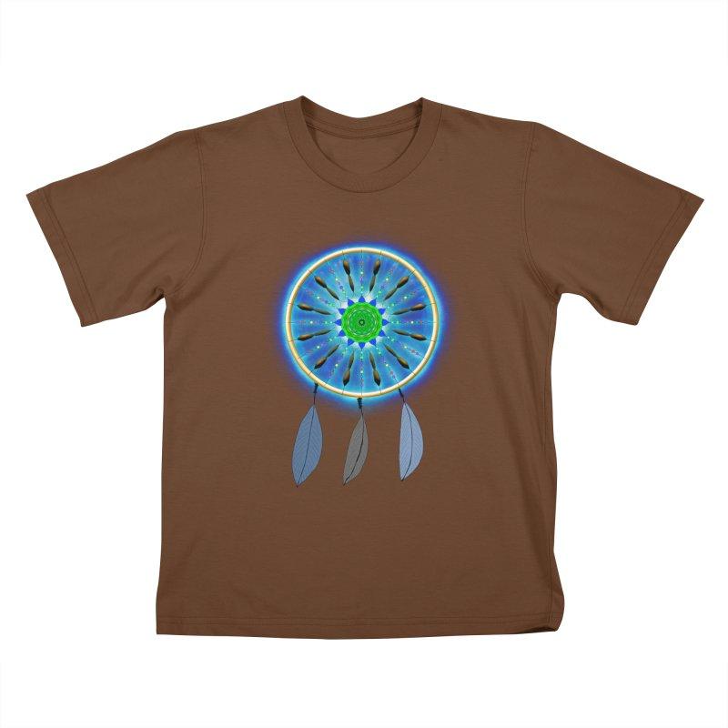 Dreamcatcher Kids T-shirt by nicolekieferdesign's Artist Shop