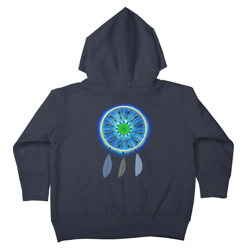 Dreamcatcher Kids Toddler Zip-Up Hoody by nicolekieferdesign's Artist Shop