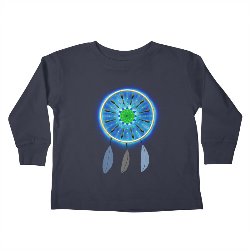 Dreamcatcher Kids Toddler Longsleeve T-Shirt by nicolekieferdesign's Artist Shop