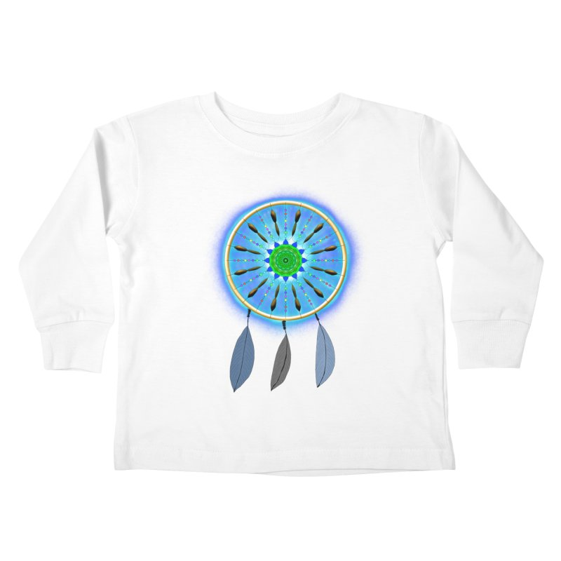Dreamcatcher Kids Toddler Longsleeve T-Shirt by nicolekieferdesign's Artist Shop