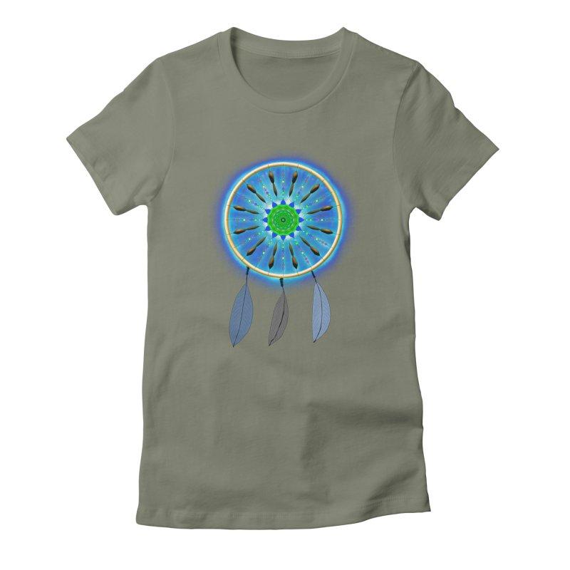 Dreamcatcher Women's Fitted T-Shirt by nicolekieferdesign's Artist Shop