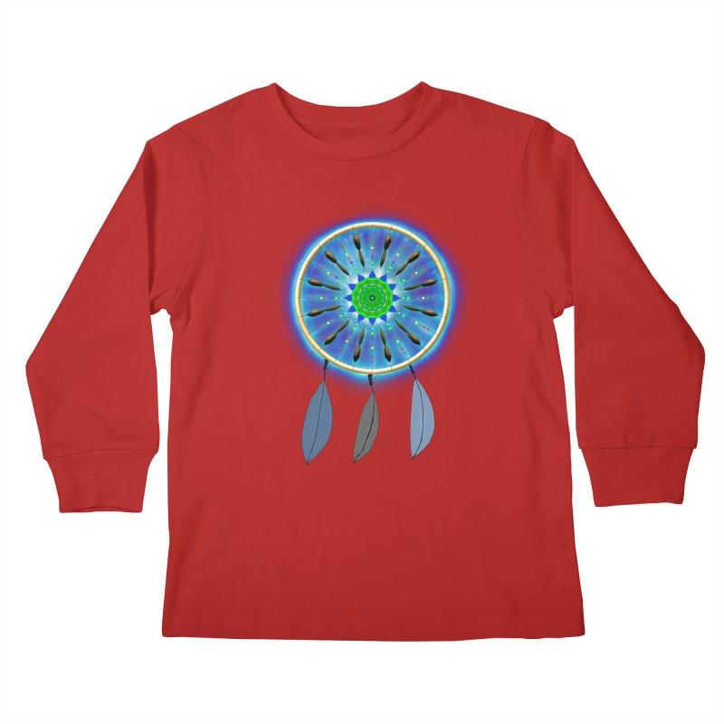 Dreamcatcher Kids Longsleeve T-Shirt by nicolekieferdesign's Artist Shop