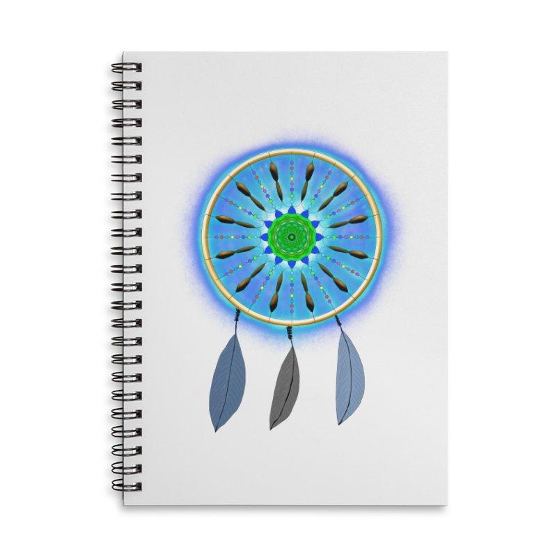 Dreamcatcher Accessories Notebook by nicolekieferdesign's Artist Shop
