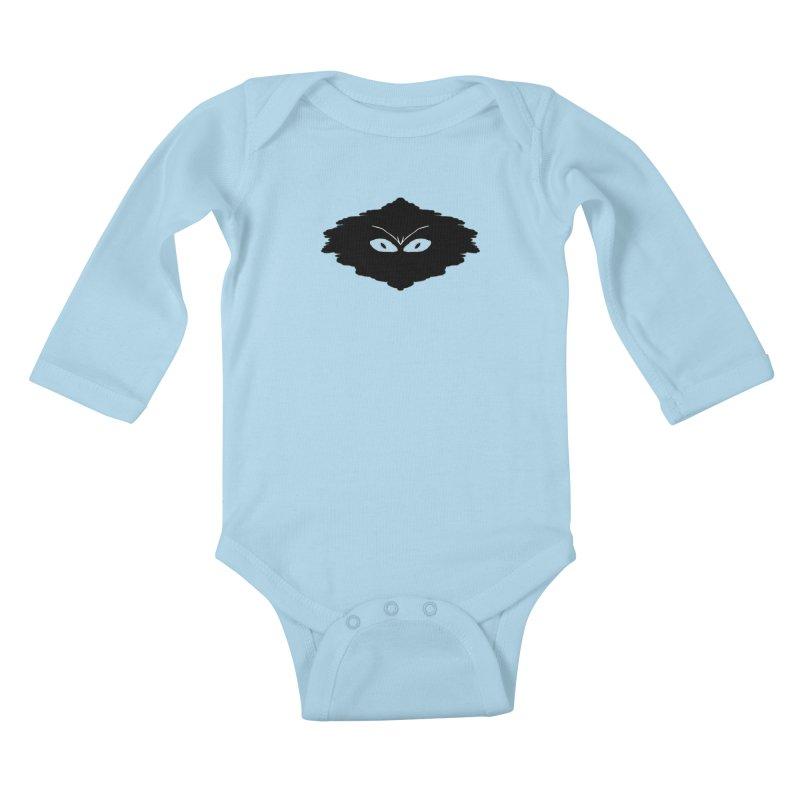 Creepy blob Kids Baby Longsleeve Bodysuit by nicolekieferdesign's Artist Shop
