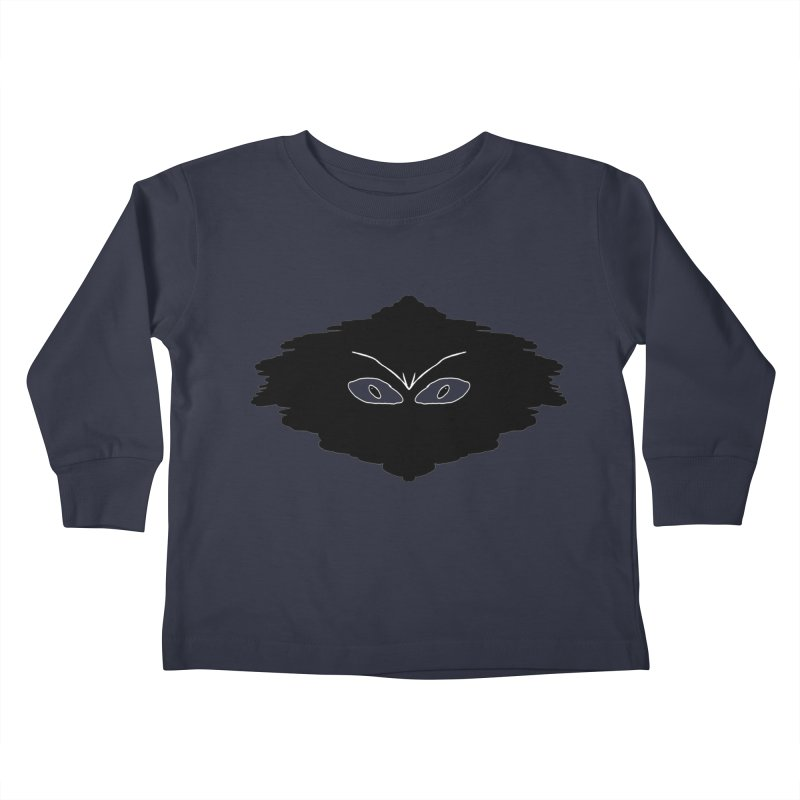 Creepy blob Kids Toddler Longsleeve T-Shirt by nicolekieferdesign's Artist Shop