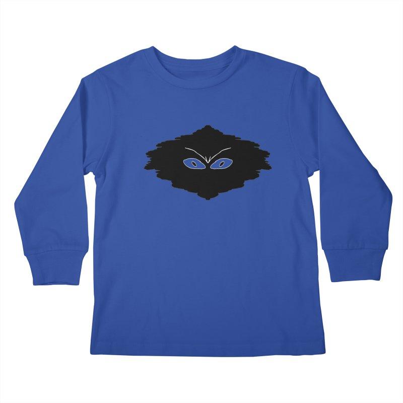 Creepy blob Kids Longsleeve T-Shirt by nicolekieferdesign's Artist Shop