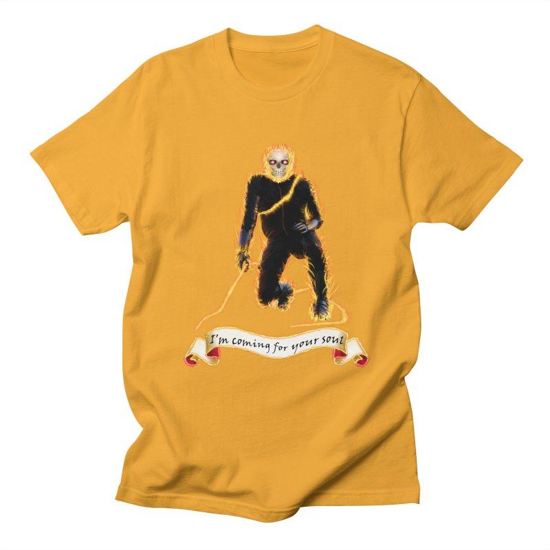 Ghost Rider with Chain Women's Unisex T-Shirt by nicolekieferdesign's Artist Shop