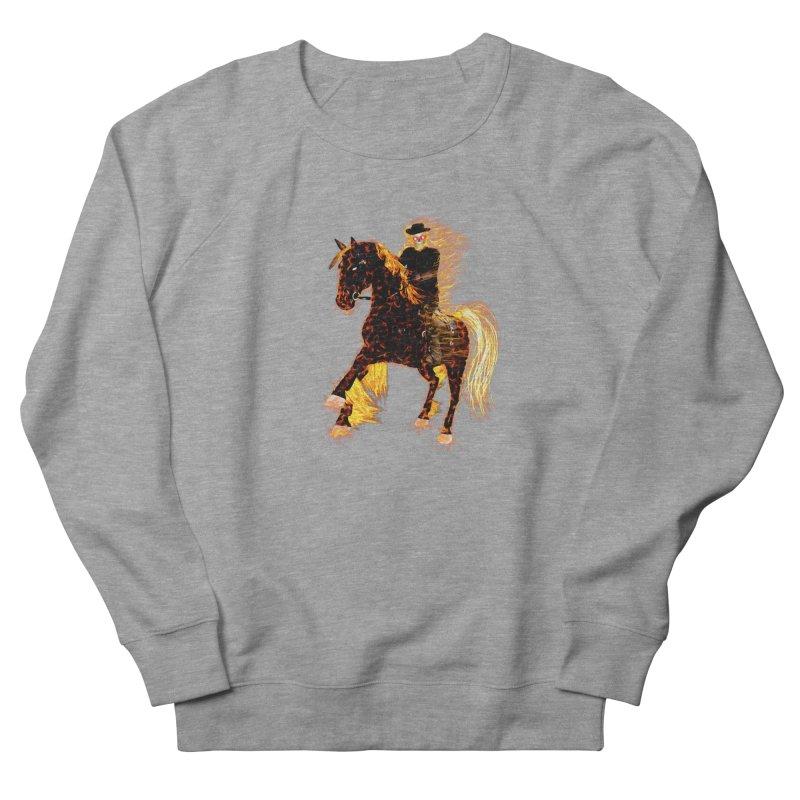 Ghost Rider on Horse Men's Sweatshirt by nicolekieferdesign's Artist Shop