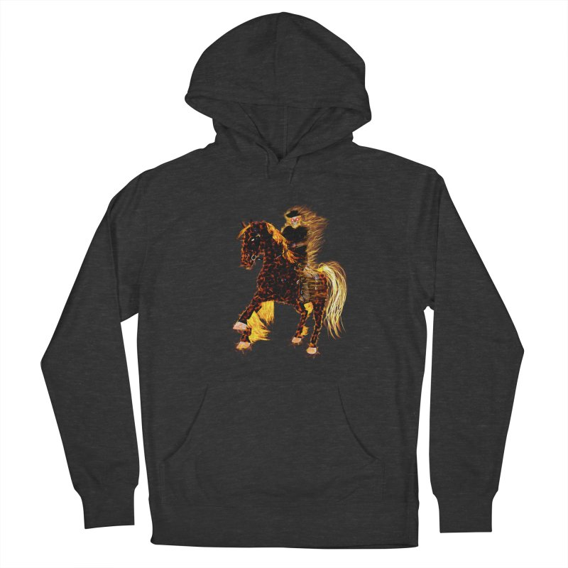 Ghost Rider on Horse Women's Pullover Hoody by nicolekieferdesign's Artist Shop