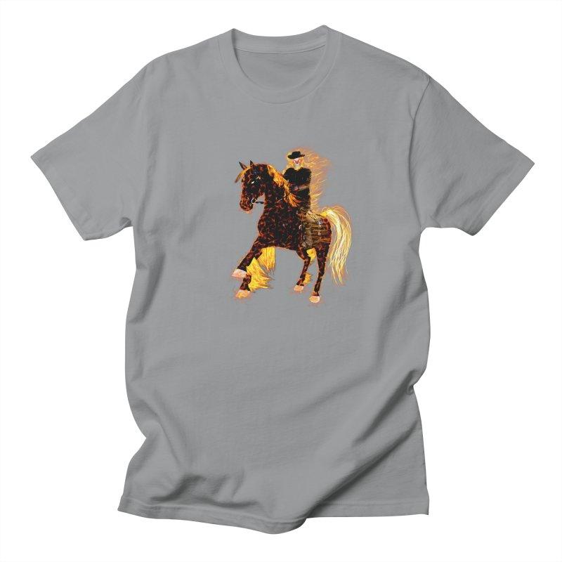 Ghost Rider on Horse Women's Unisex T-Shirt by nicolekieferdesign's Artist Shop