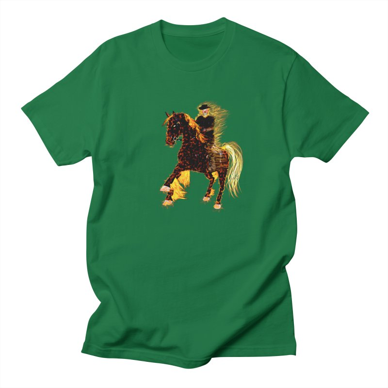Ghost Rider on Horse Men's T-Shirt by nicolekieferdesign's Artist Shop