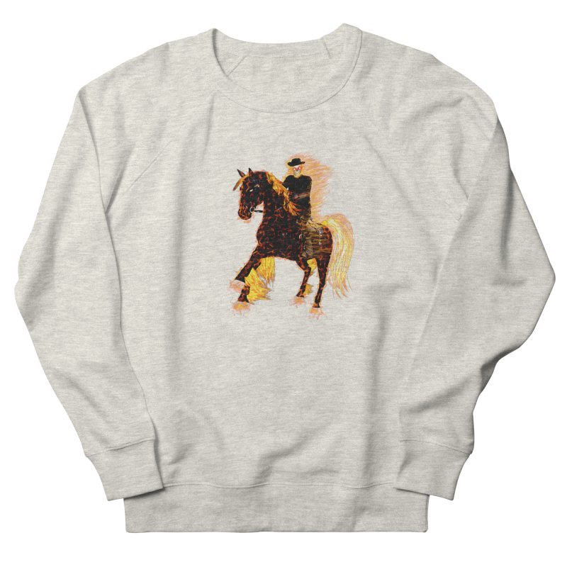Ghost Rider on Horse Women's Sweatshirt by nicolekieferdesign's Artist Shop