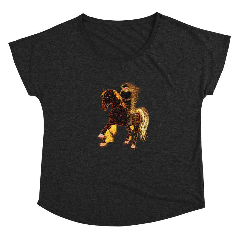 Ghost Rider on Horse Women's Dolman by nicolekieferdesign's Artist Shop