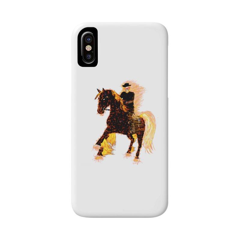 Ghost Rider on Horse Accessories Phone Case by nicolekieferdesign's Artist Shop