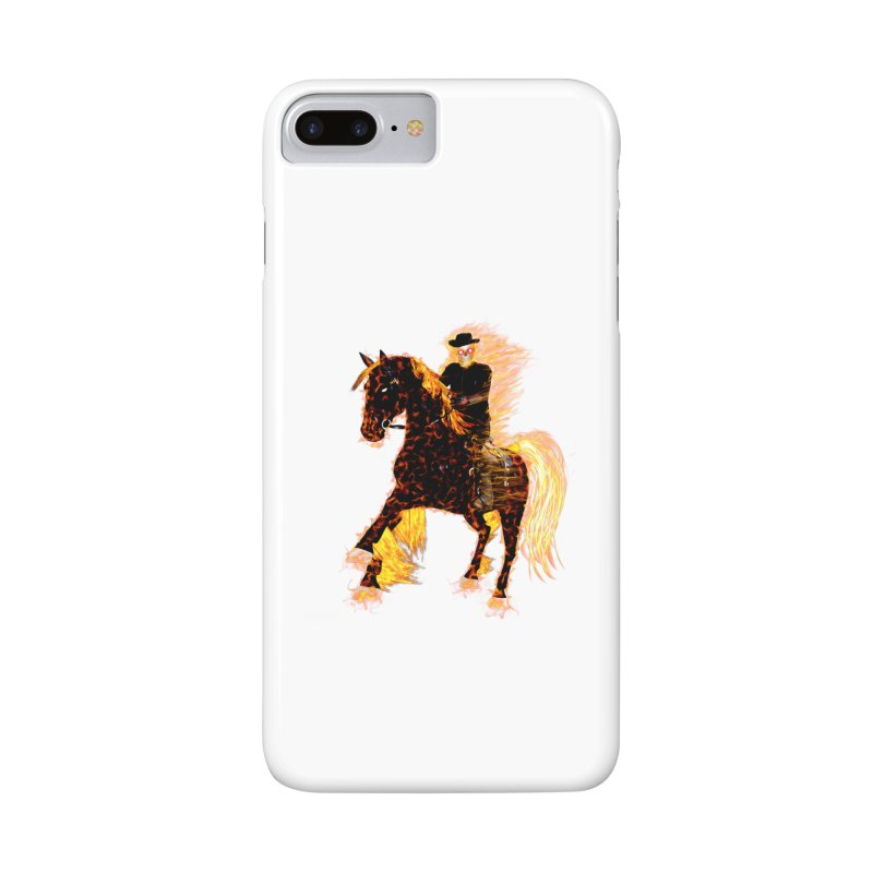 Ghost Rider on Horse Accessories Phone Case by nicolekieferdesign's Artist Shop