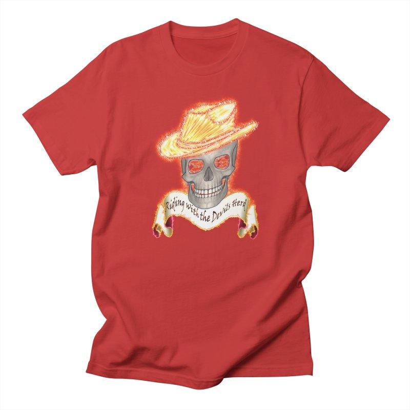 The Devils herd Men's T-Shirt by nicolekieferdesign's Artist Shop