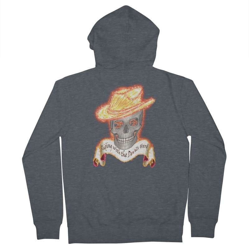 The Devils herd Women's Zip-Up Hoody by nicolekieferdesign's Artist Shop