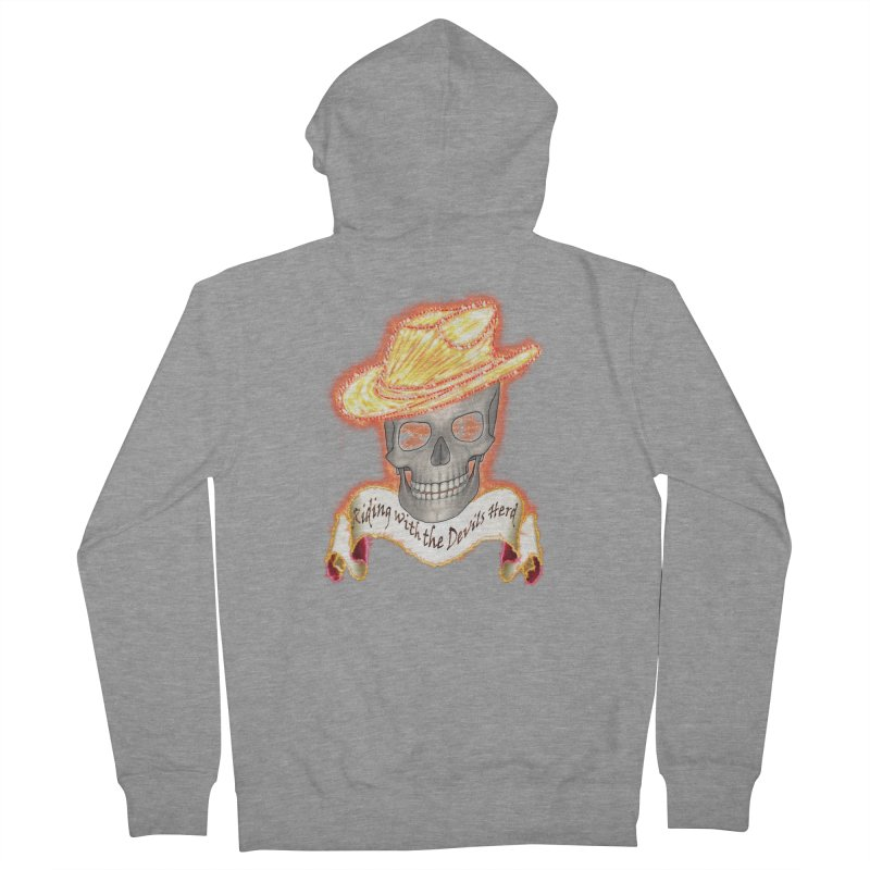 The Devils herd Men's Zip-Up Hoody by nicolekieferdesign's Artist Shop