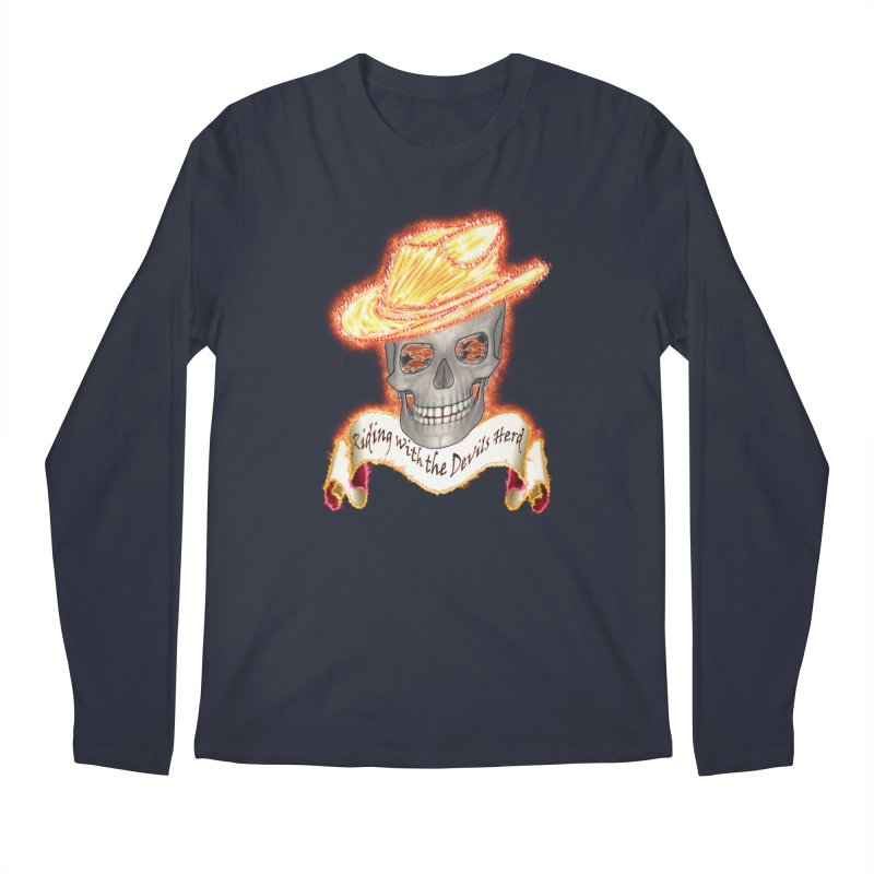 The Devils herd Men's Regular Longsleeve T-Shirt by nicolekieferdesign's Artist Shop